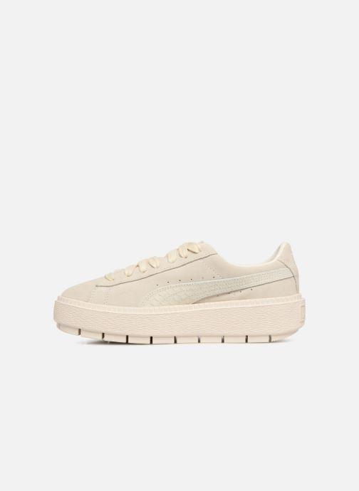Puma Trace Platform Sneaker Animal beige 337412 gxgrCqUw8