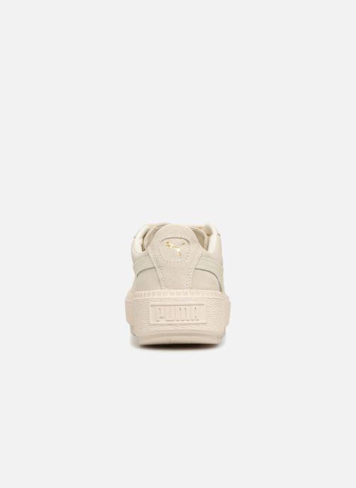 Sneaker Puma Platform Trace Animal beige ansicht von rechts