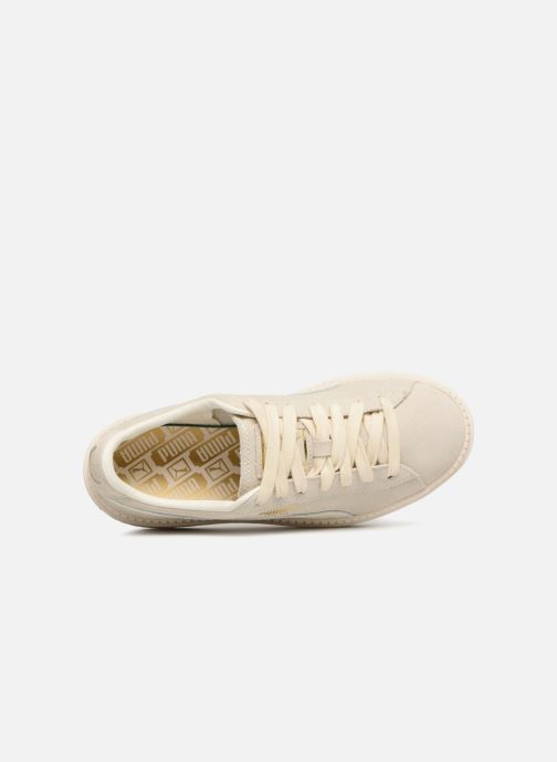 Sneaker Puma Platform Trace Animal beige ansicht von links