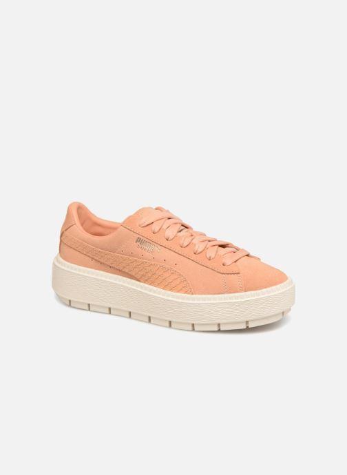 Sneaker Puma Platform Trace Animal orange detaillierte ansicht/modell