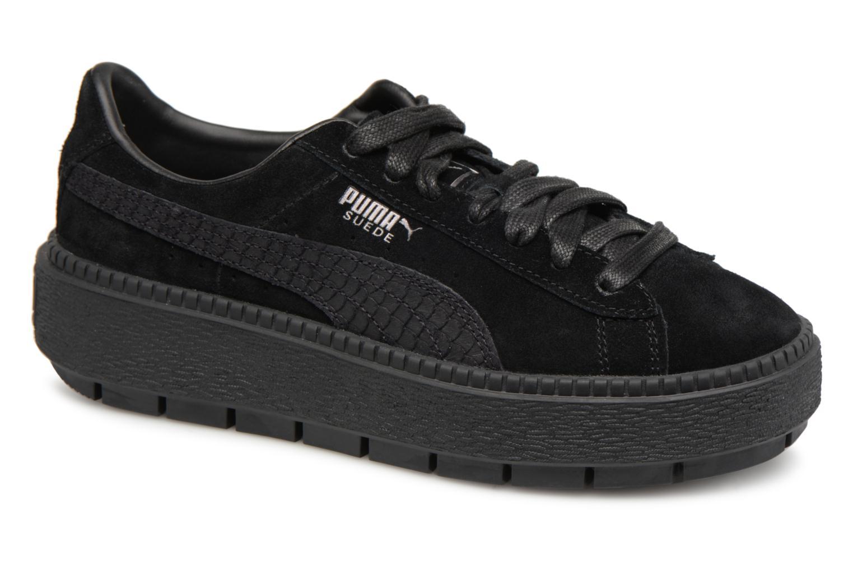 87778005752 Puma Platform Trace Trace Trace Animal (Negro) - Deportivas en Más cómodo  Los zapatos más populares para hombres y mujeres b00056