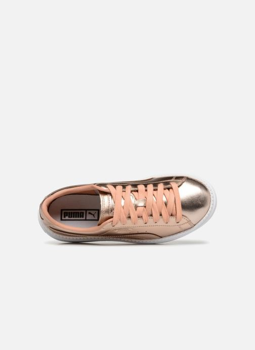 Sneakers Puma Platform Trace Cop Rosa immagine sinistra