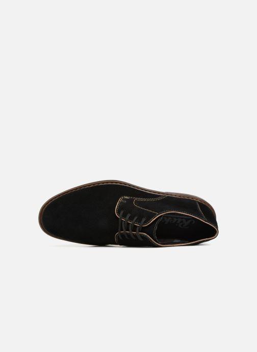 Scarpe con lacci Rieker Anil 17622 Nero immagine sinistra