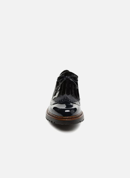 Mocassins Rieker Caitlin 54872 Bleu vue portées chaussures
