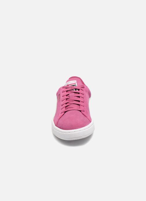 Baskets Puma Suede Classic Wns Rose vue portées chaussures