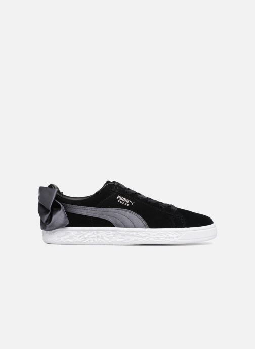 Sneakers Puma Basket Bow Satin Zwart achterkant