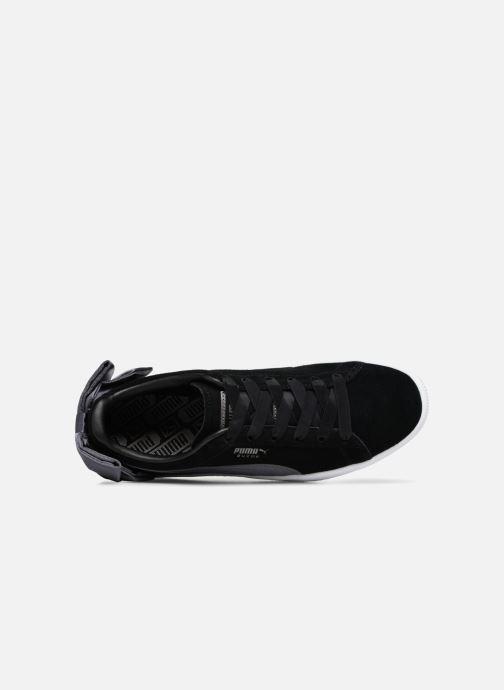 Sneakers Puma Basket Bow Satin Zwart links