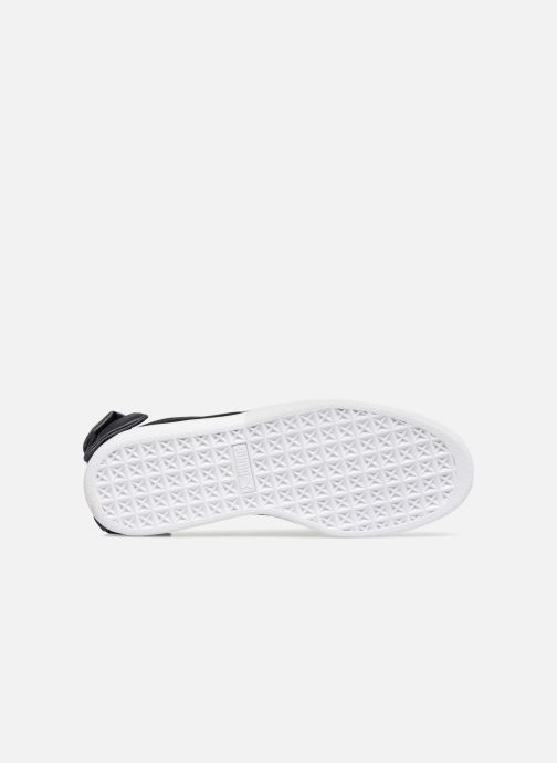 Sneakers Puma Basket Bow Satin Svart bild från ovan