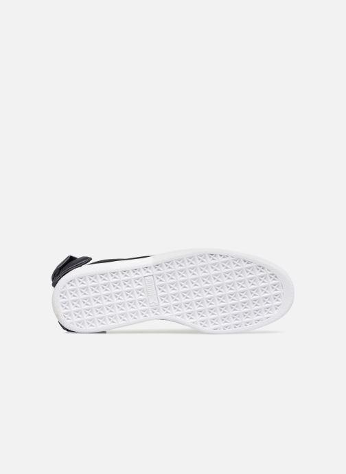 Sneakers Puma Basket Bow Satin Nero immagine dall'alto