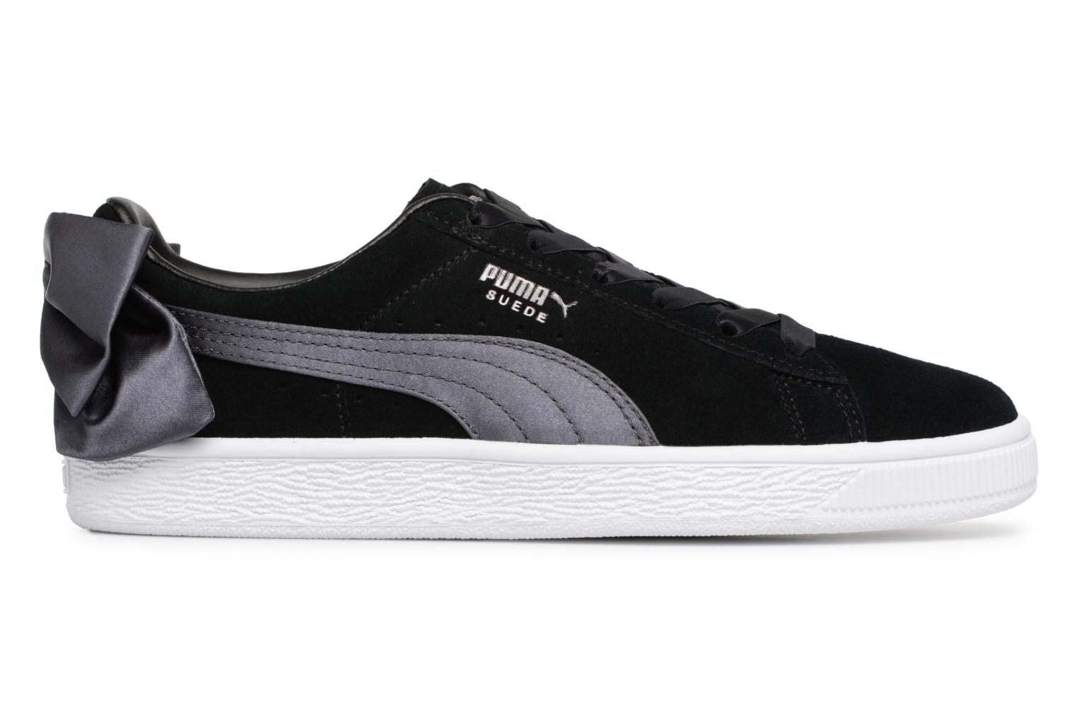 Satin Gate Bow Black iron Puma Basket qS8Paw4E
