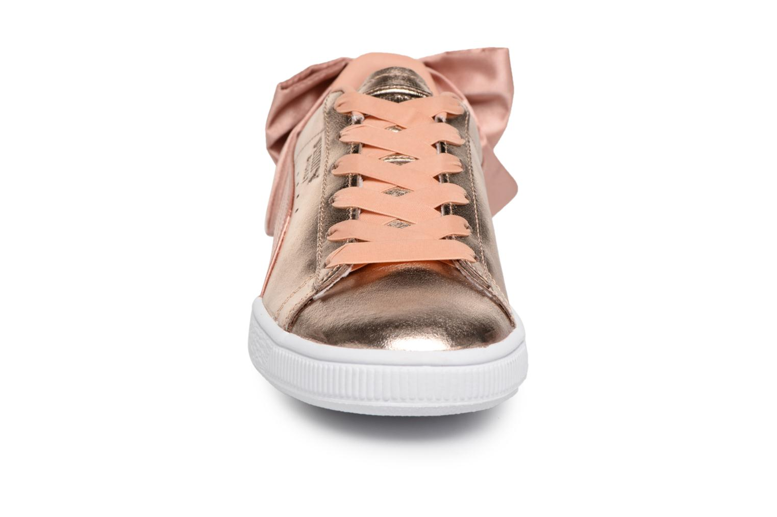 Lux White Basket Coral Dusty Bow Puma puma vExqAx