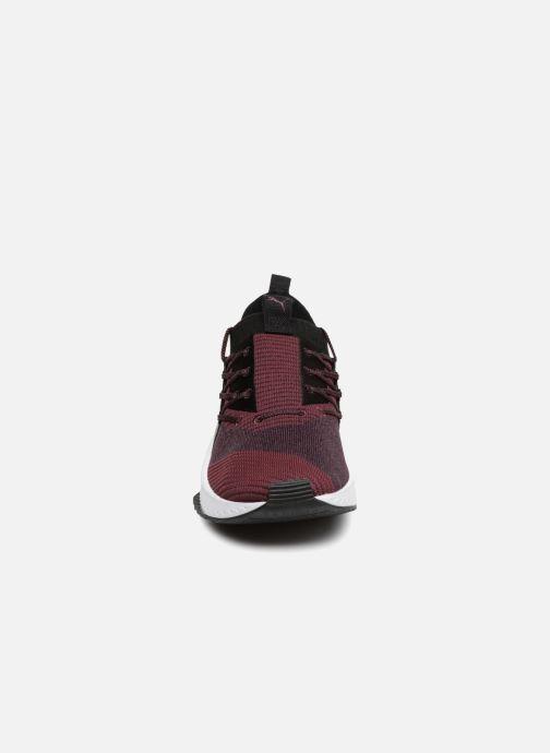 Baskets Puma Tsugi Jun Baroque Bordeaux vue portées chaussures