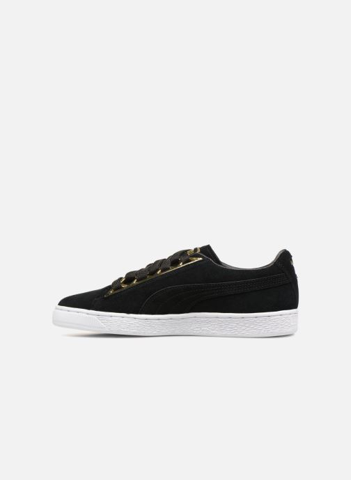Baskets Puma Suede Jewel Metallic Noir vue face