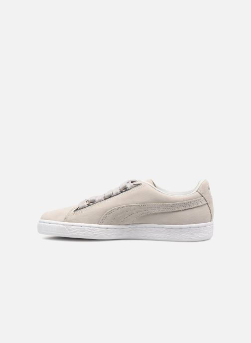 Baskets Puma Suede Jewel Metallic Gris vue face