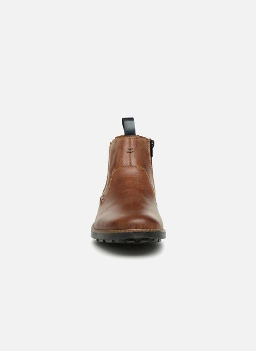 Bottines et boots Rieker Andrew 36062 Marron vue portées chaussures