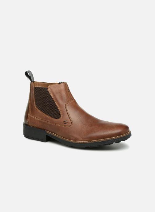 Bottines et boots Rieker Andrew 36062 Marron vue détail/paire