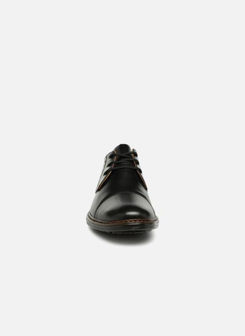 Zapatos con cordones Rieker Aurelien 17617 Negro vista del modelo