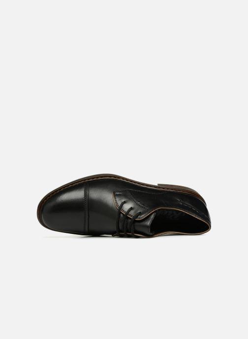 Zapatos con cordones Rieker Aurelien 17617 Negro vista lateral izquierda