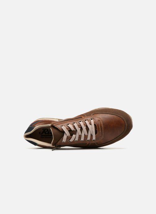 Sneakers Rieker Arslan 19401 Marrone immagine sinistra