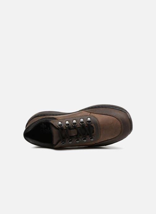 Sneaker Rieker Bernard B8923 braun ansicht von links