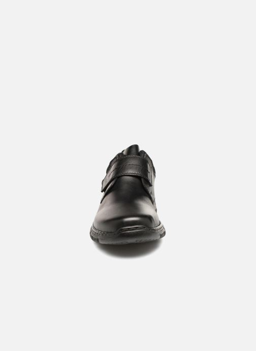 Chaussures à scratch Rieker Brieg 19962 Noir vue portées chaussures