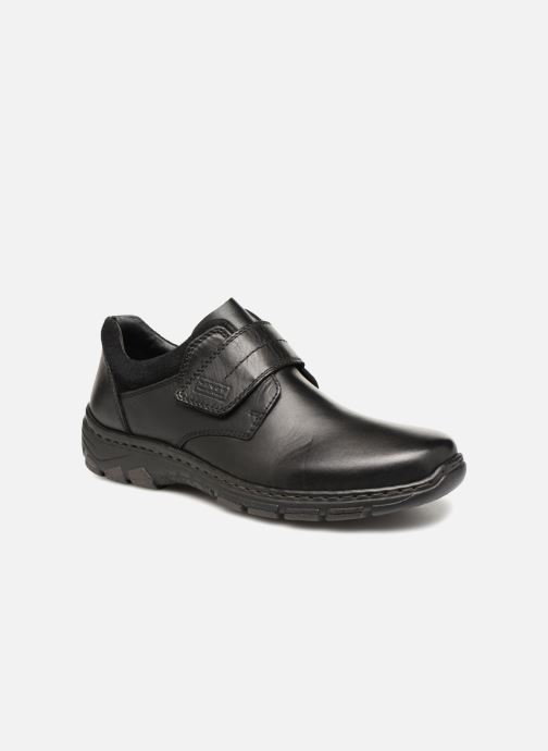 Chaussures à scratch Rieker Brieg 19962 Noir vue détail/paire