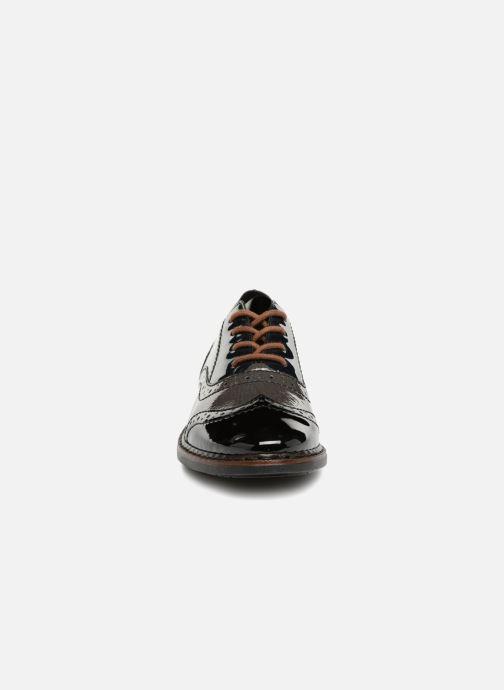 Chaussures à lacets Rieker Anaelle 50603 Noir vue portées chaussures