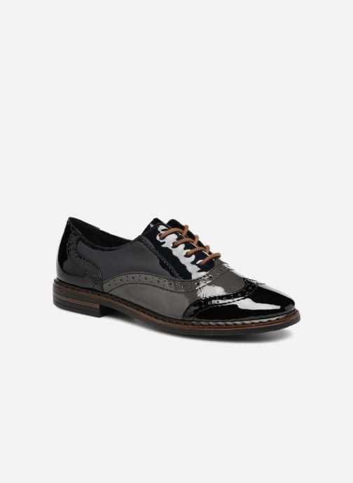 Chaussures à lacets Rieker Anaelle 50603 Noir vue détail/paire