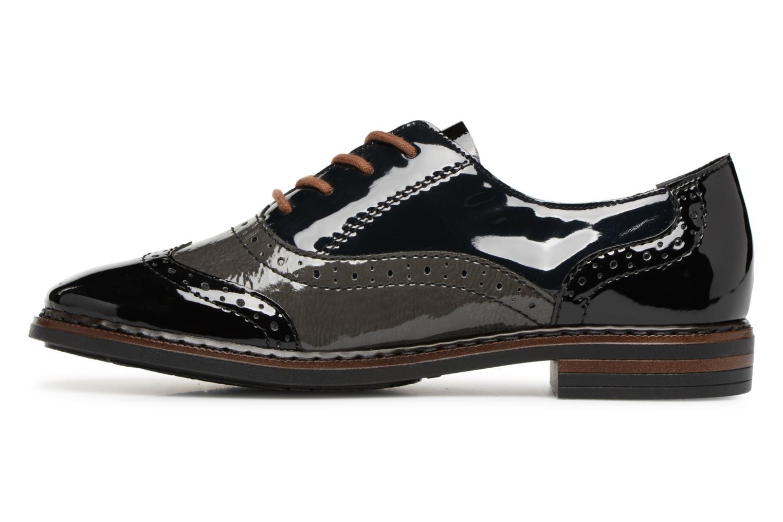 Chaussures à lacets Rieker Anaelle 50603 Noir vue face