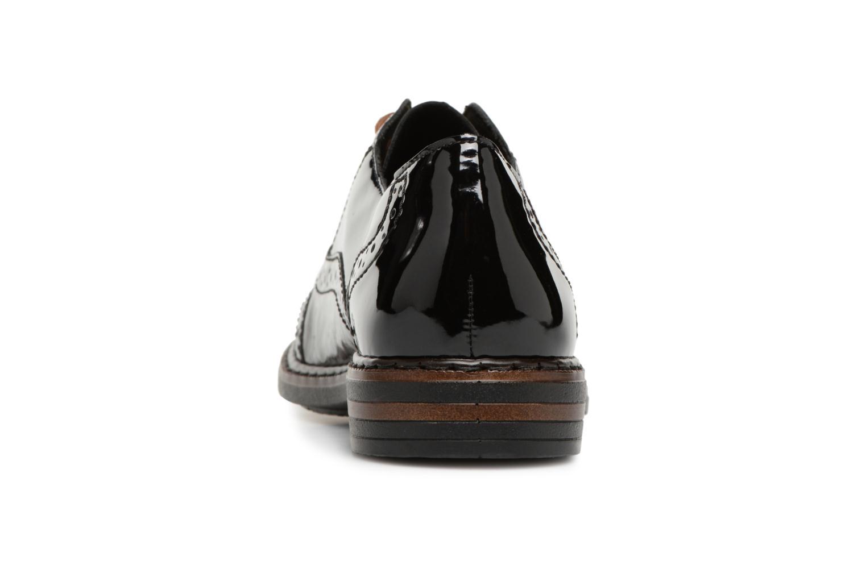 Chaussures à lacets Rieker Anaelle 50603 Noir vue droite
