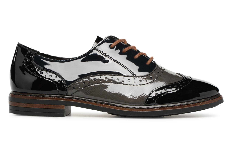 Chaussures à lacets Rieker Anaelle 50603 Noir vue derrière