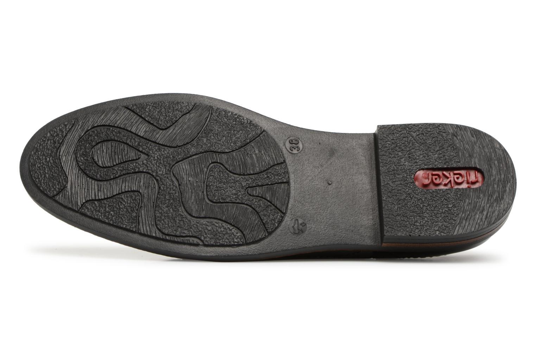 Chaussures à lacets Rieker Anaelle 50603 Noir vue haut