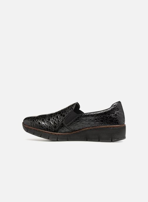 Loafers Rieker Astrid 53766 Black front view