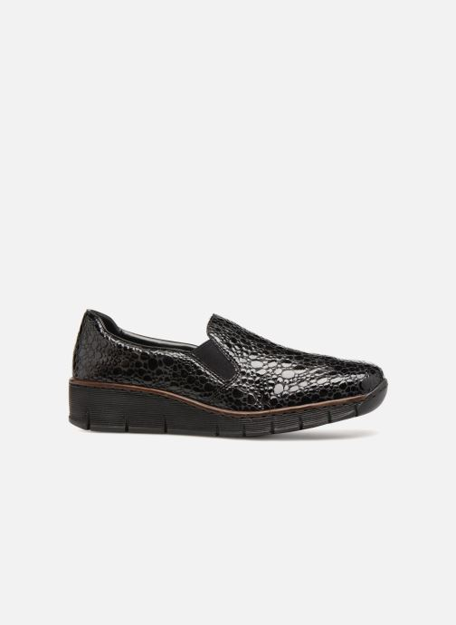 Loafers Rieker Astrid 53766 Black back view