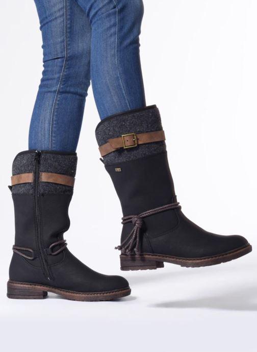 Rieker Damen 94778 Hohe Stiefel: : Schuhe & Handtaschen