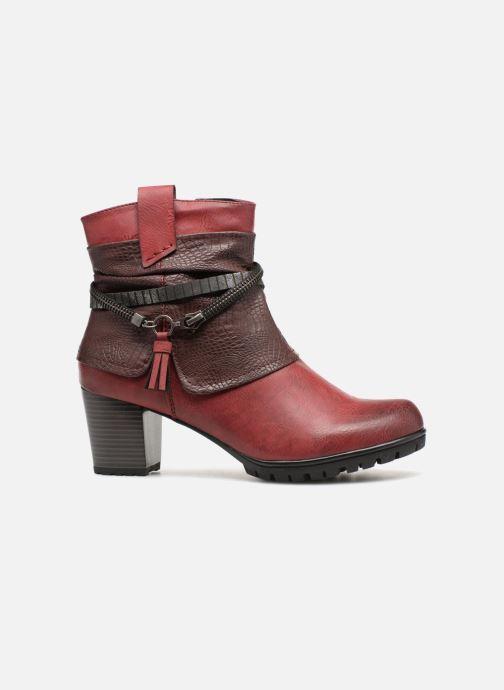 Boots en enkellaarsjes Rieker Bethanie 98589 Bordeaux achterkant