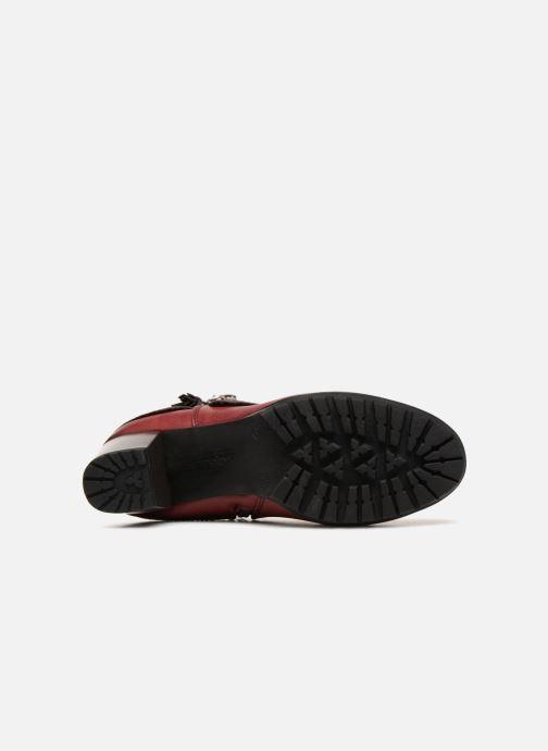 Boots en enkellaarsjes Rieker Bethanie 98589 Bordeaux boven
