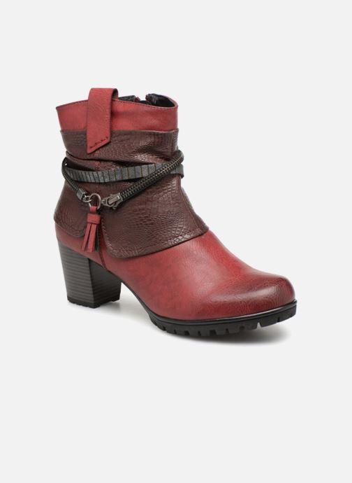 Boots en enkellaarsjes Rieker Bethanie 98589 Bordeaux detail