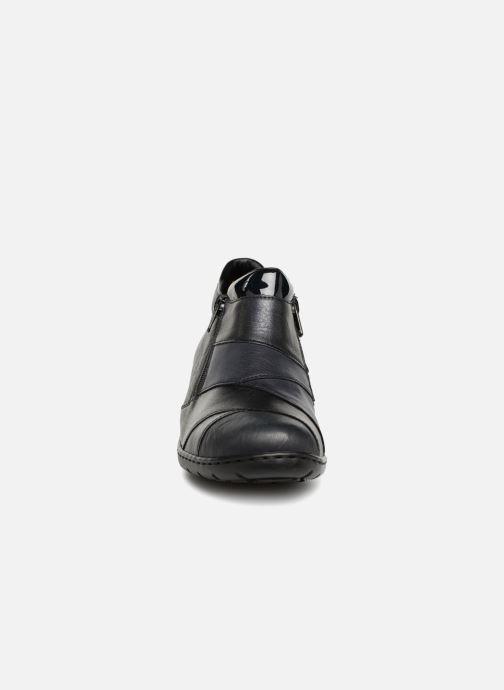 Rieker Claudia L4373 (Bleu) Bottines et boots chez Sarenza
