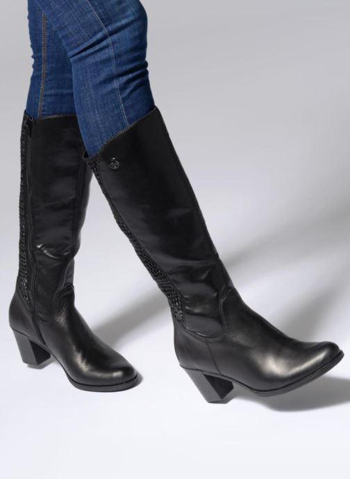 Laarzen Rieker Fiona Y8995 Zwart onder
