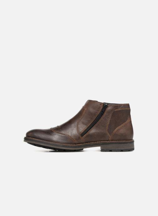 Bottines et boots Rieker Alex F5550 Marron vue face