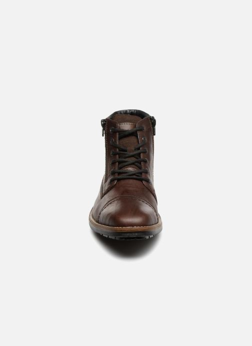 Ankle boots Rieker Edgard F1340 Brown model view