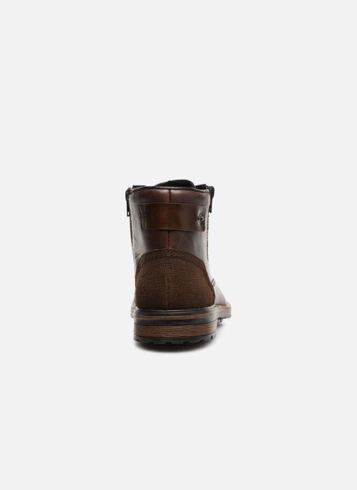 Bottines et boots Rieker Edgard F1340 Marron vue droite