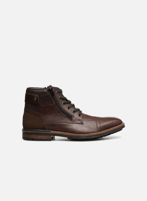 Ankle boots Rieker Edgard F1340 Brown back view