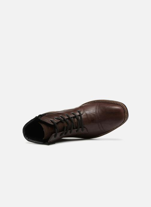Ankle boots Rieker Edgard F1340 Brown view from the left