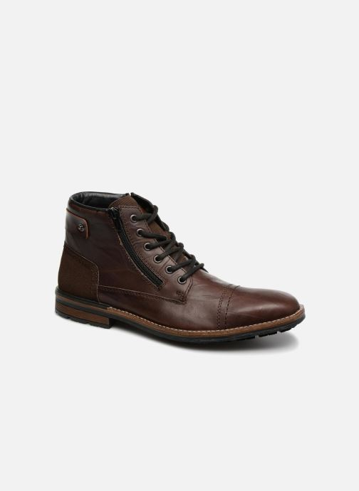 Ankle boots Rieker Edgard F1340 Brown detailed view/ Pair view