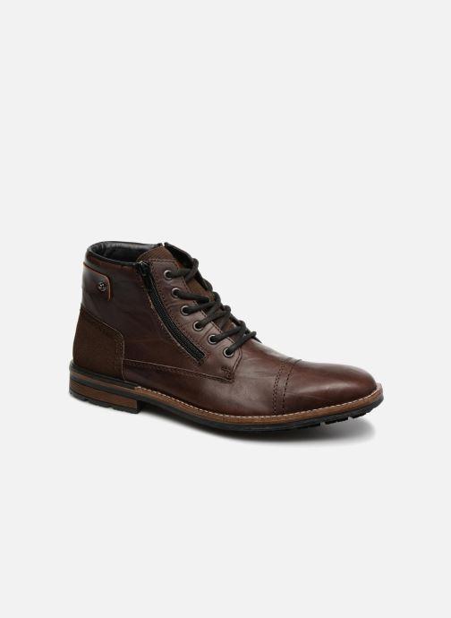 Bottines et boots Rieker Edgard F1340 Marron vue détail/paire