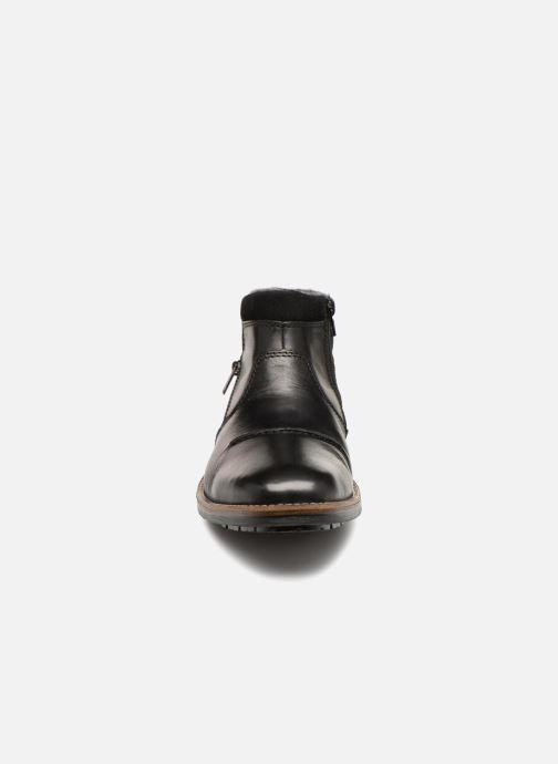 Bottines et boots Rieker Theodor F1372 Noir vue portées chaussures