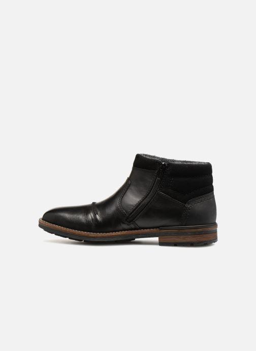Bottines et boots Rieker Theodor F1372 Noir vue face