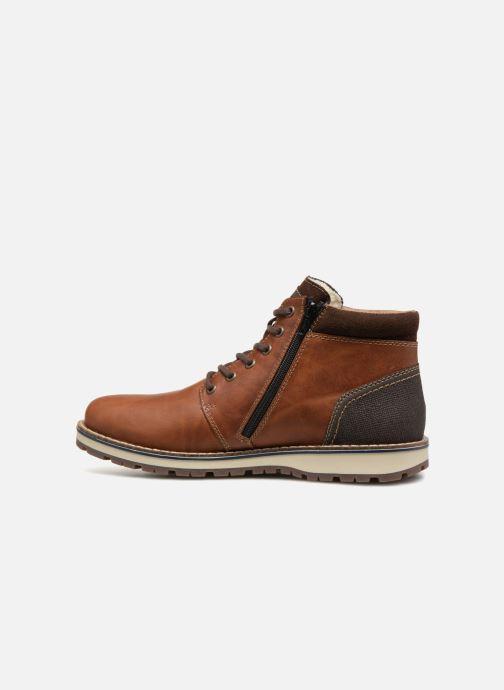 Bottines et boots Rieker Achil 38433 Marron vue face